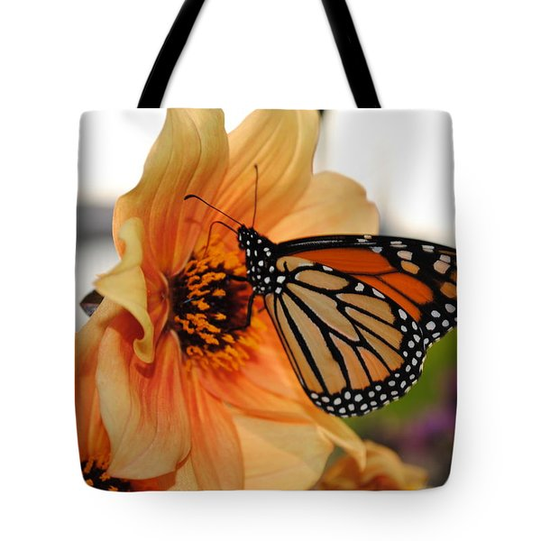 Tote Bag featuring the photograph Colors In Sync by Michael Frank Jr