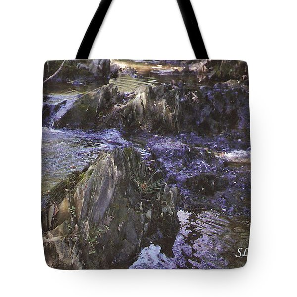 Colors In The Stream Tote Bag