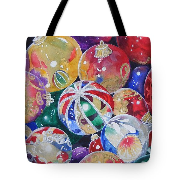 Colors Of Christmas ...sold  Tote Bag