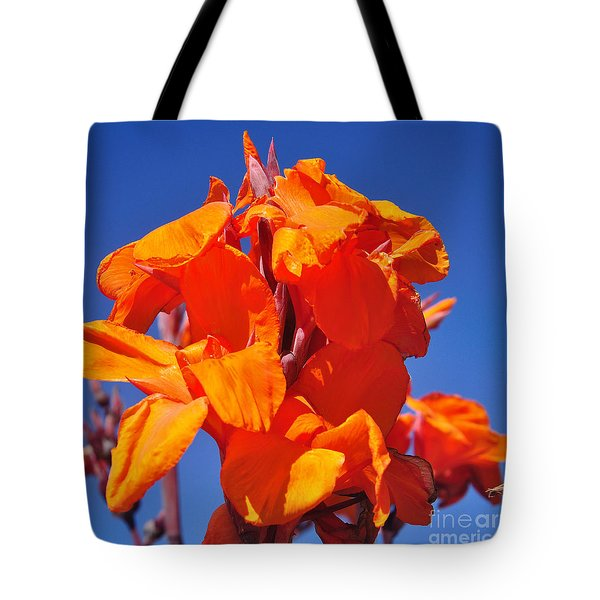 Colors Of Summer Tote Bag by Kaye Menner