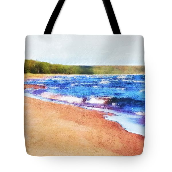 Tote Bag featuring the photograph Colors Of Water by Phil Perkins
