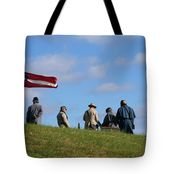 Tote Bag featuring the photograph Colors Of Yesteryear by Paul Mashburn