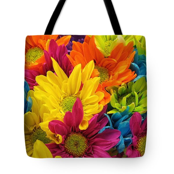 Colossal Colors Tote Bag