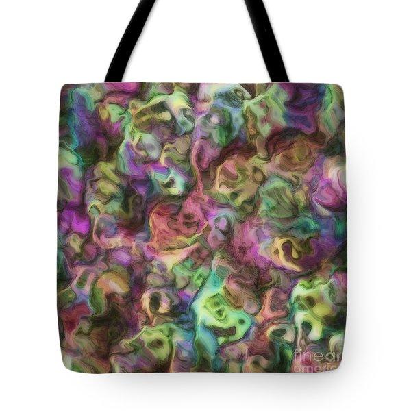 Colour Aquatica Tote Bag