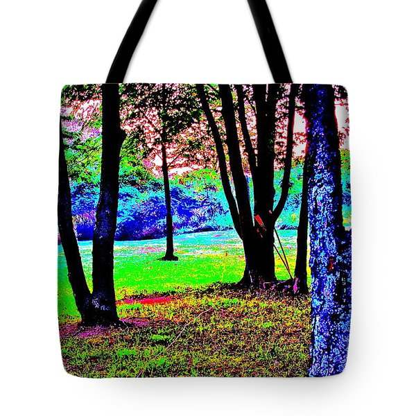 Tote Bag featuring the photograph Colour Whore by Xn Tyler
