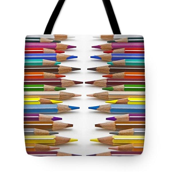 Coloured Pencil Tote Bag by Joana Kruse