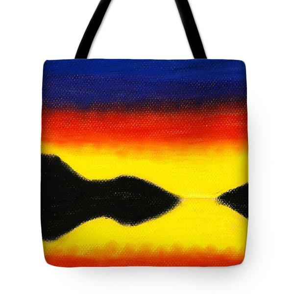 Colours Of Sky 2 Tote Bag by Hakon Soreide