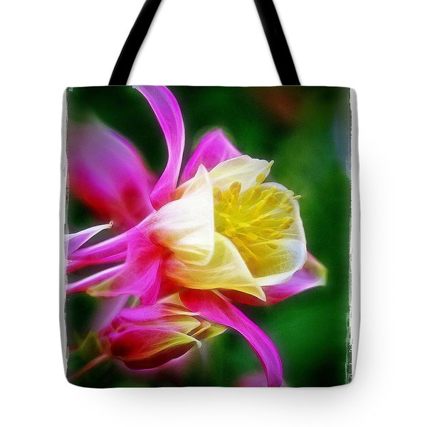 Columbine Tote Bag by Judi Bagwell