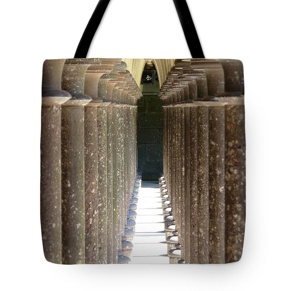 Columns Tote Bag by Christine Huwer