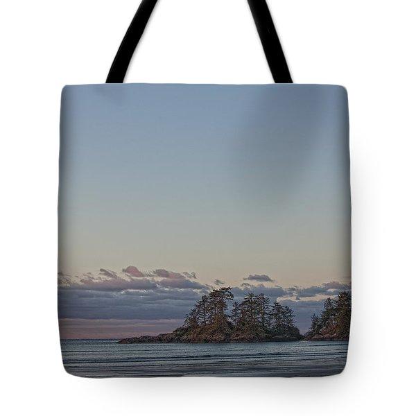 Combers Beach At Dawn, Tofino, British Tote Bag by Robert Postma