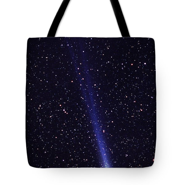 Comet Hyakutake Tote Bag by Jerry Schad and Photo Researchers