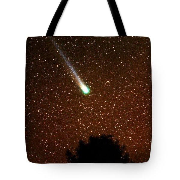 Comet Hyakutake Tote Bag