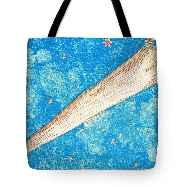 Comet Tote Bag by Science Source