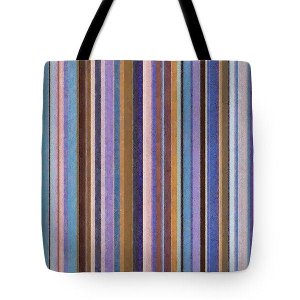 Comfortable Stripes Ll Tote Bag by Michelle Calkins