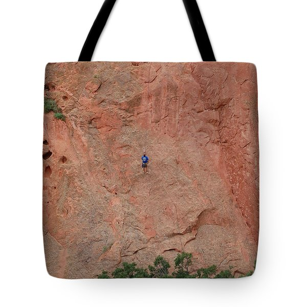 Coming Down The Mountain Tote Bag by Randy J Heath