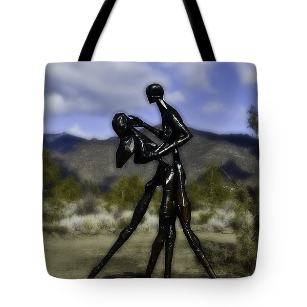 Tote Bag featuring the photograph Coming Home  by Larry Depee