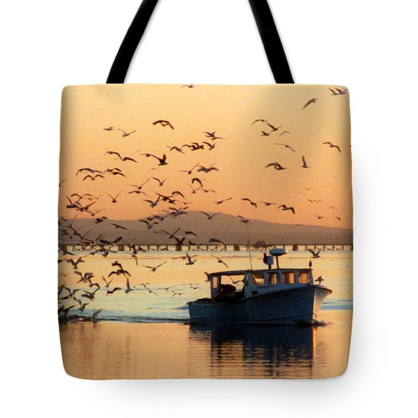 Coming Home With Take Out Tote Bag by Michelle Wiarda