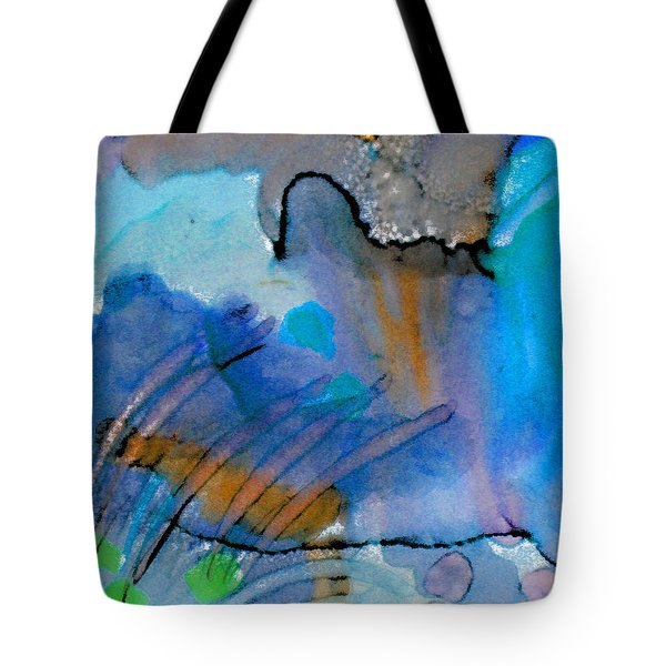 Coming Into Being II Tote Bag