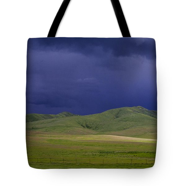Coming Of The Storm Tote Bag by Marta Cavazos-Hernandez