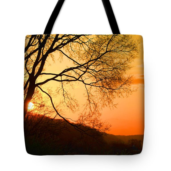 Coming Up Tote Bag