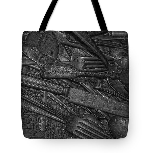 Common Cutlery  Tote Bag by Empty Wall
