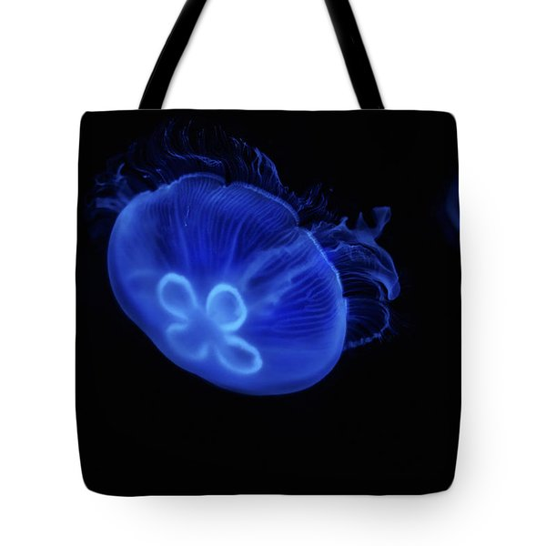 Common Moon Jelly Tote Bag