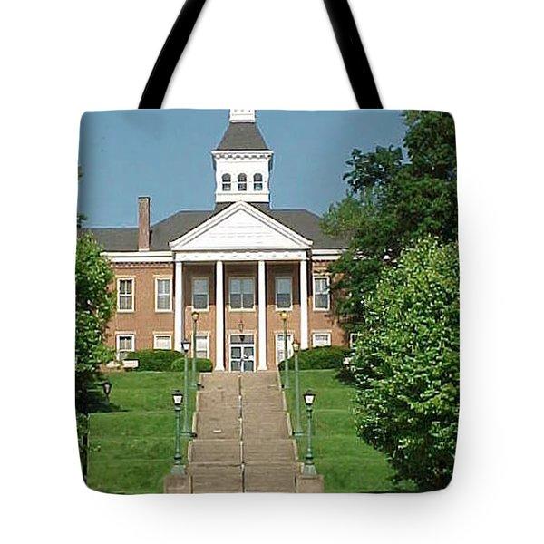 Common Pleas Court House Tote Bag by Margaret Harmon