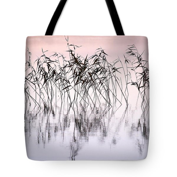 Common Reeds Tote Bag by Jouko Lehto