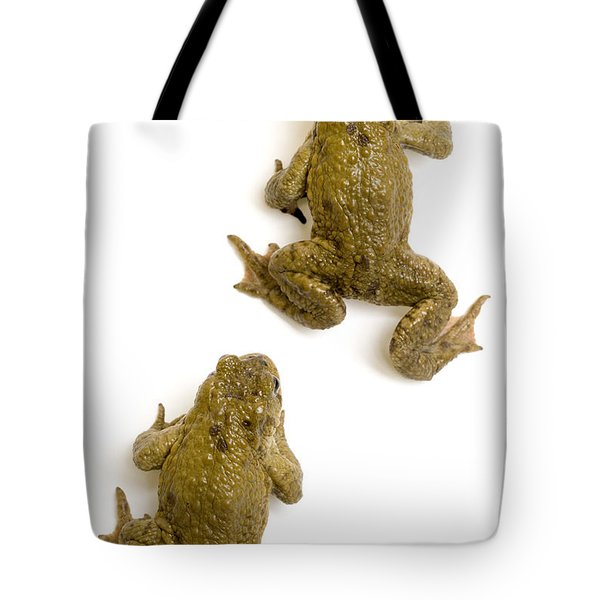Common Toad Tote Bag by Mark Bowler and Photo Researchers