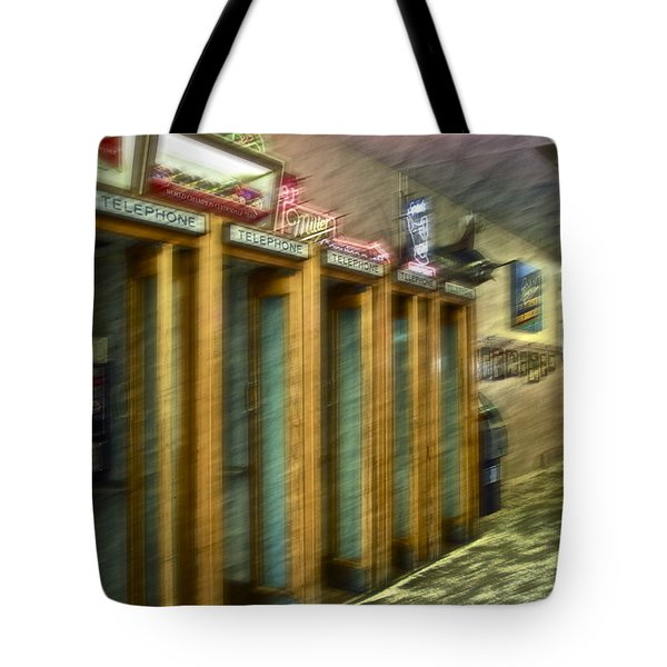 Communication Movement Tote Bag by Gwyn Newcombe