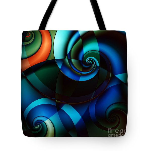 Complex Conversations In Society II Tote Bag by Clayton Bruster