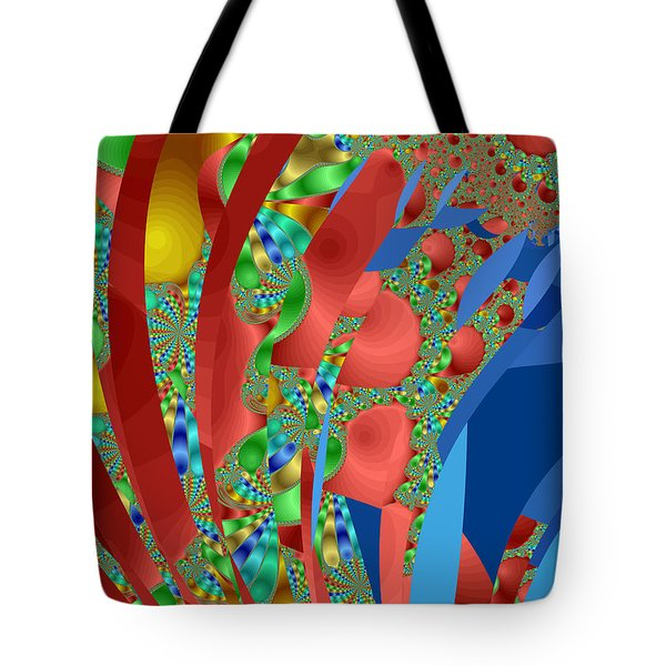 Complex Garden Tote Bag