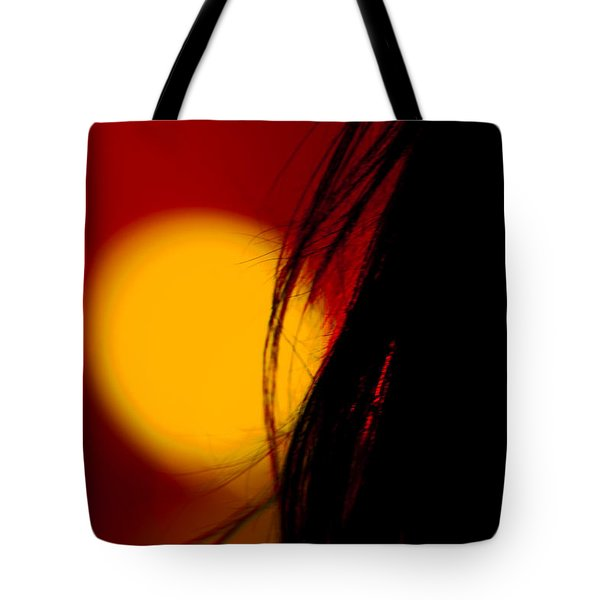Concert Silhouette Tote Bag