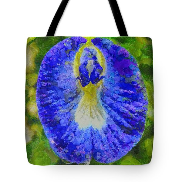 Conch Flower Tote Bag