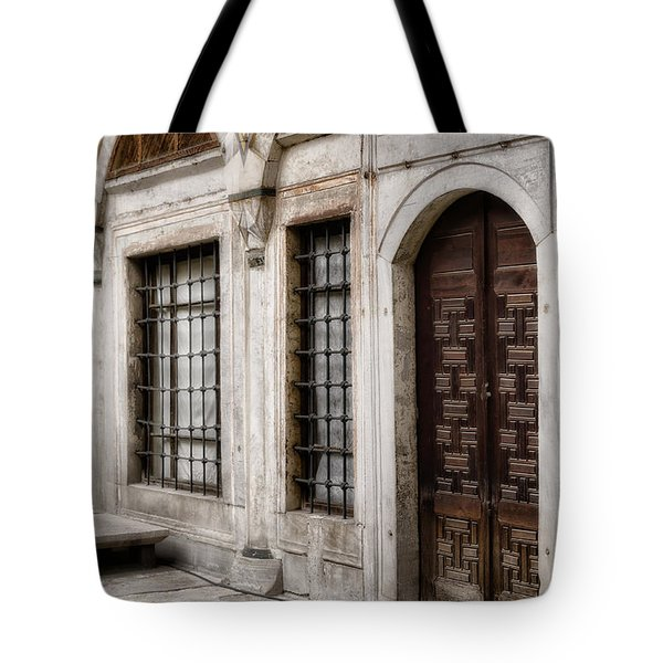 Concubine  Court Tote Bag by Joan Carroll