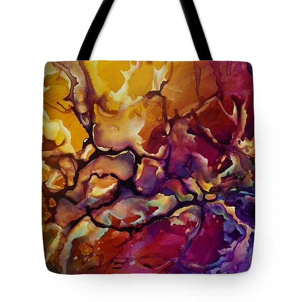 Conflict Tote Bag by Michael Lang