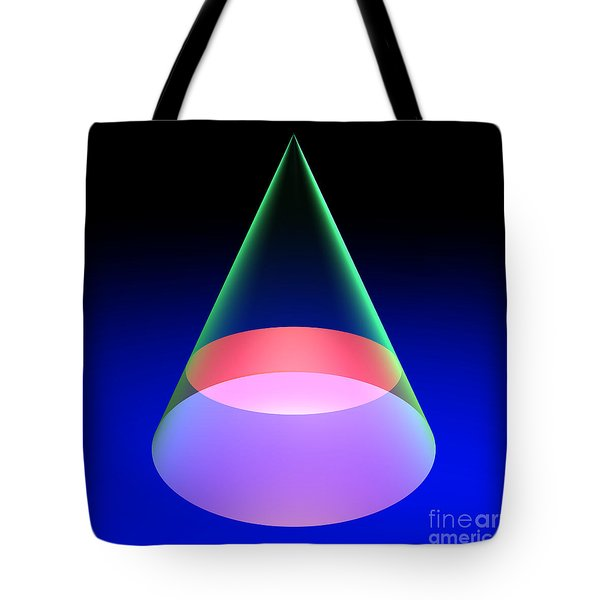 Conic Section Circle 6 Tote Bag