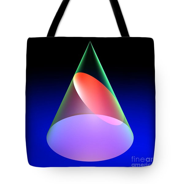 Conic Section Ellipse 6 Tote Bag