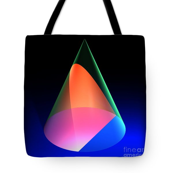 Conic Section Parabola 6 Tote Bag