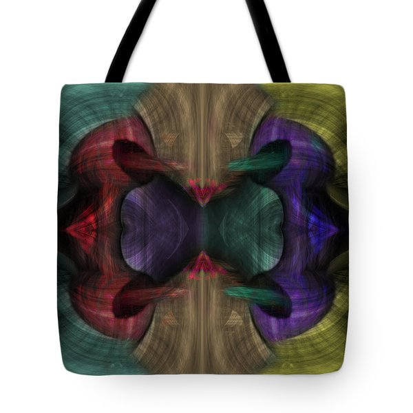 Conjoint - Multicolor Tote Bag by Christopher Gaston