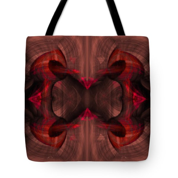 Conjoint - Ruby Tote Bag by Christopher Gaston