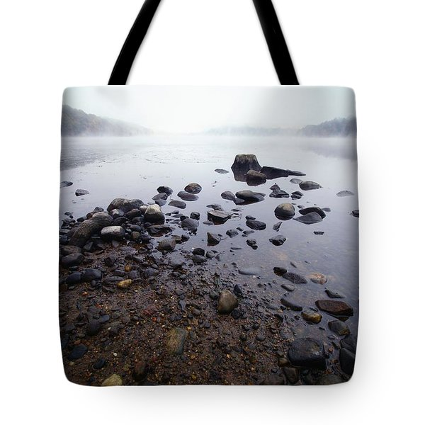 Connecticut Rocks Tote Bag by Karol Livote