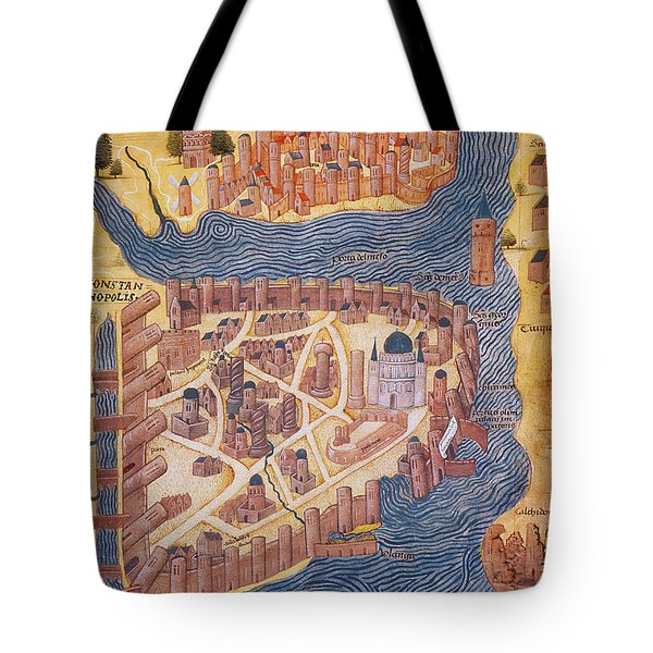 Constantinople, 1485 Tote Bag by Photo Researchers