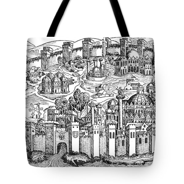 Constantinople, 1493 Tote Bag by Photo Researchers