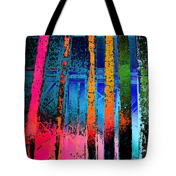 Tote Bag featuring the photograph Construct by David Pantuso