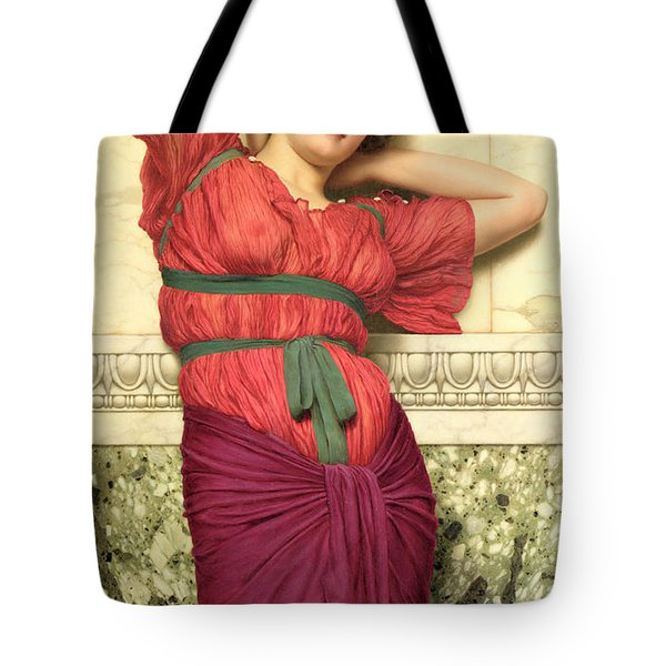 Contemplation Tote Bag by John William Godward