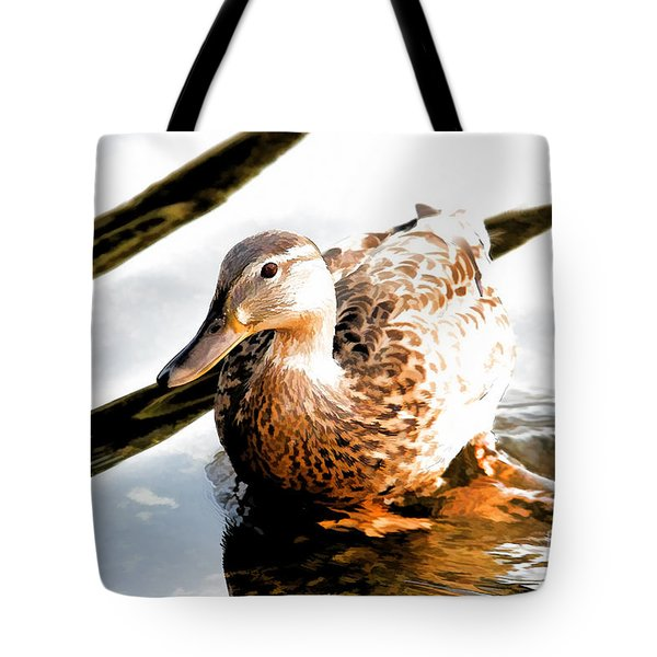 Contemplation Tote Bag by Mariola Bitner