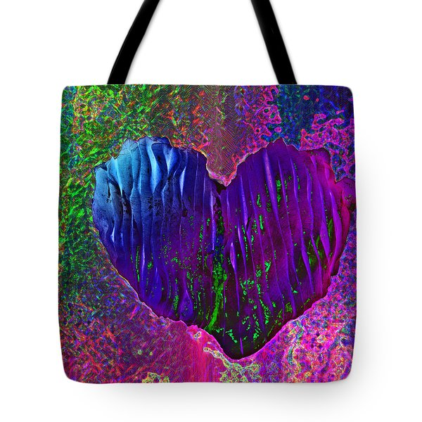Tote Bag featuring the photograph Contours Of The Heart by David Pantuso