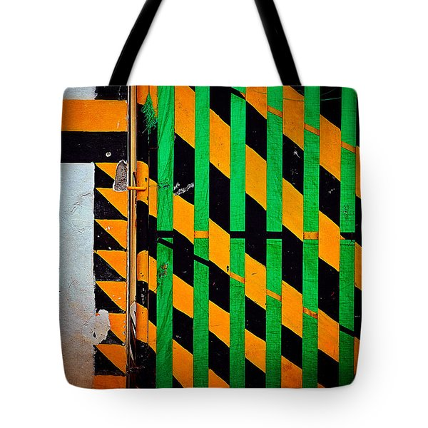 Contradiction Tote Bag by Skip Hunt