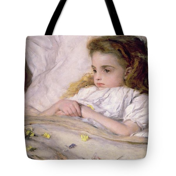 Convalescent Tote Bag by Frank Holl